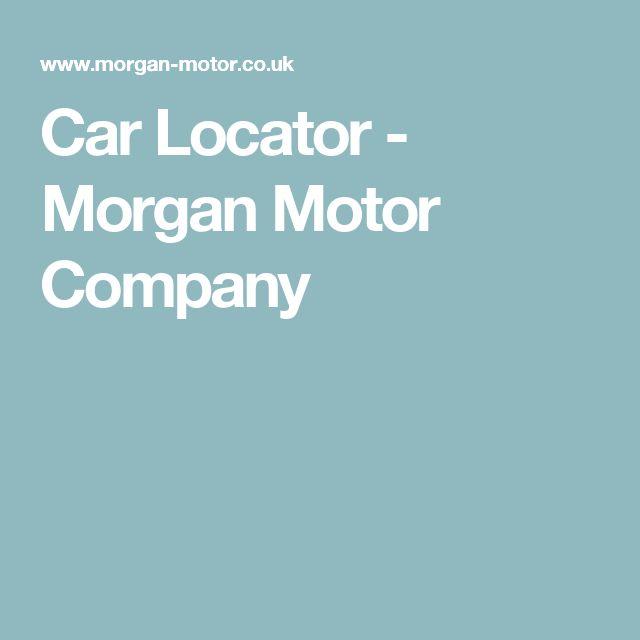 Car Locator - Morgan Motor Company