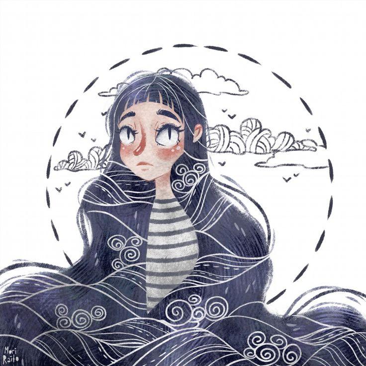 12. A sea witch #vscoartist #sai #picame
