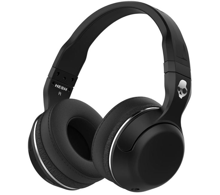SKULLCANDY  Hesh 2.0 Wireless Bluetooth Headphones - Black, Black Price: £ 49.99 Listen to your favourite tunes in comfort and style with the Skullcandy Hesh 2.0 Wireless Bluetooth Headphones in black with chrome detailing. Wireless listening The Hesh 2.0 offer the classic Skullcandy urban style with the convenience of wireless listening. Using Bluetooth to connect to your compatible smart...
