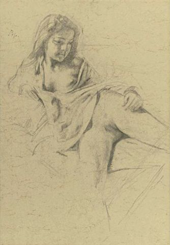 Drawing by Balthus
