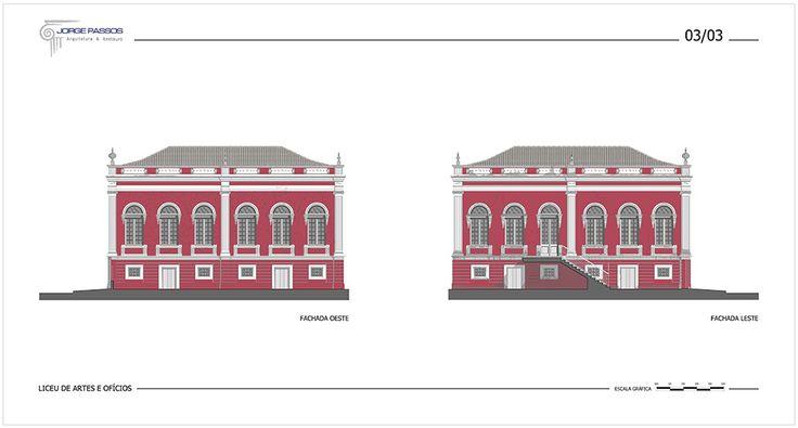Liceu de Artes e Ofícios | Jorge Passos - Arquitetura e Restauro L.t.d.a