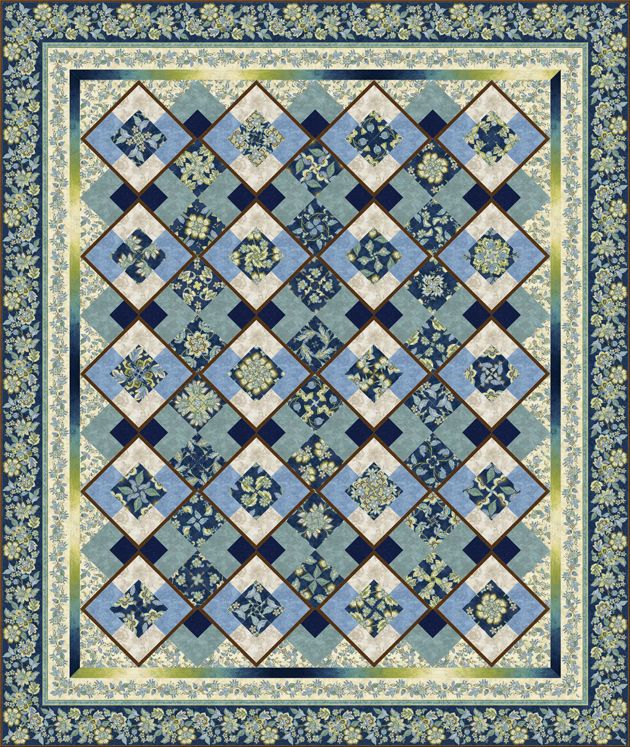 Zara Belle Kaleidoscope Quilt By Marilyn Foreman Quilt Moments