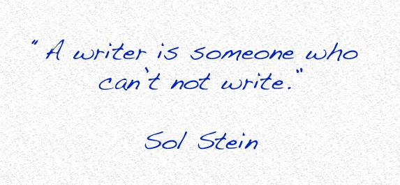 My favourite quote about writing.