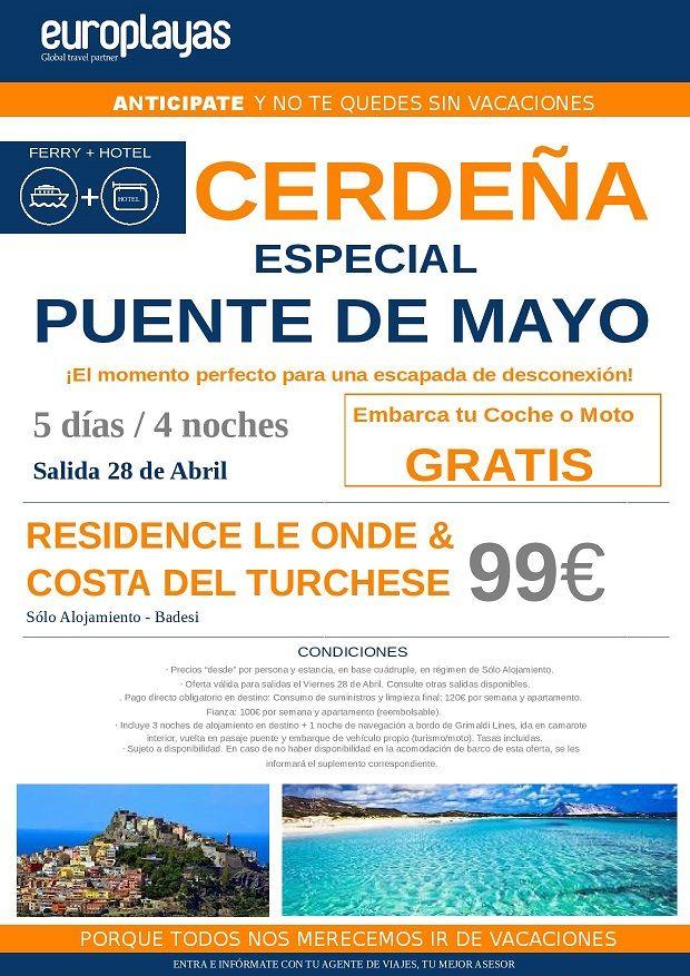ofertas de viajes puente de mayo