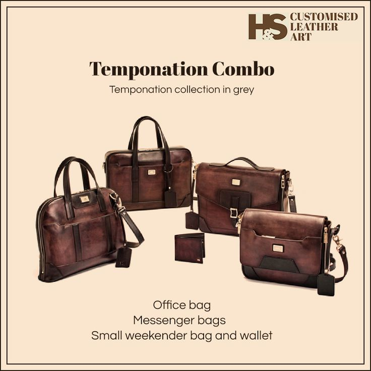 For the professional on the move! https://hnscraftsmanship.com/collections/temponation-combo-grey.html #hnscraftsmanship #leather #leatherbag #leathercraft #leatheraccessories #leatherwallet #leatherart #customizedart #luxurygoods