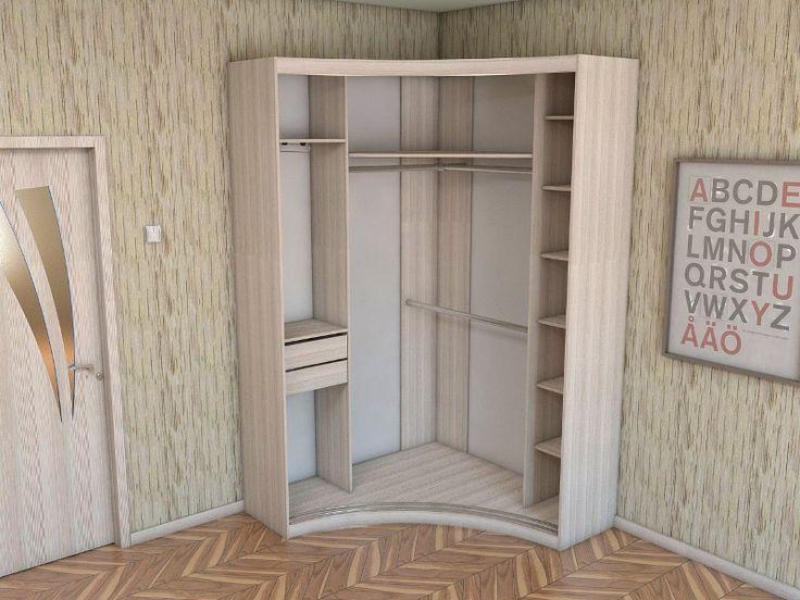 угловые шкафы в спальни фото дизайнов