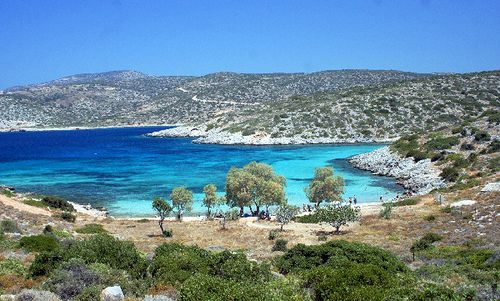 Agia Dinami beach, Chios, Greece. I love swimming there!! My father's childhood started here.  I must see it someday.