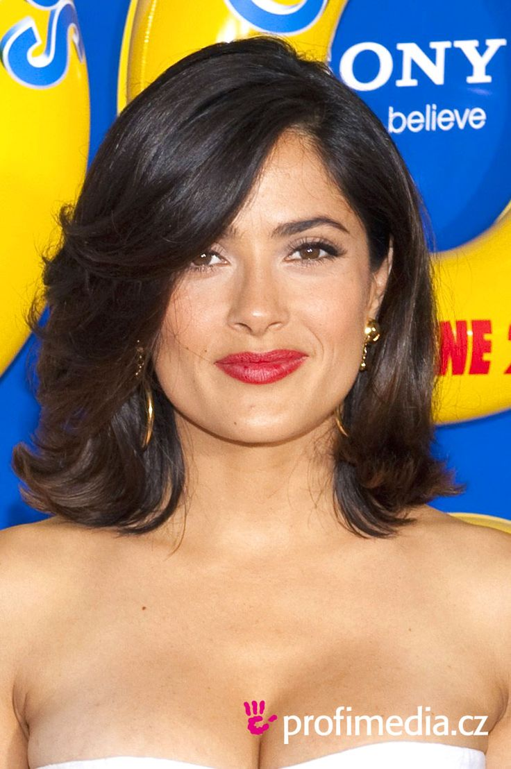 Homecoming hairstyles for long thick hair - Browse A Full Photo Gallery Of 20 Salma Hayek Hairstyles For Some Ideas For Your Next Hairstyle Makeover