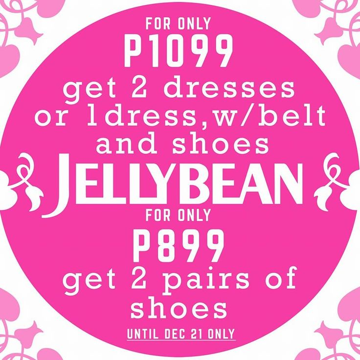 Take advantage of this special bundling treat from Jellybean until December 21!!! See you ‪#‎jellybeangirls‬ at the Upper Ground Floor North Wing, SM CITY SAN LAZARO!