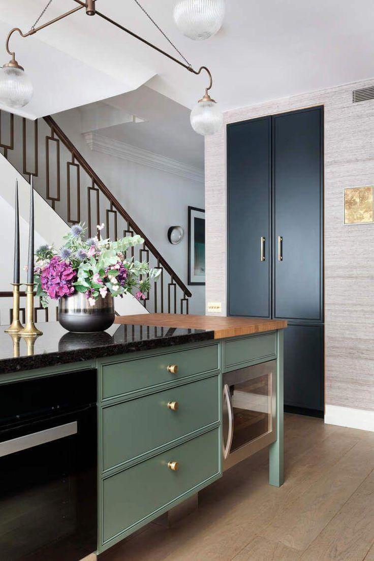 Farmhouse style antique kitchen. in 2020 Kitchen design