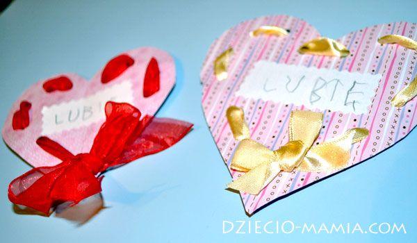 Valentines Day, gift, special card, love, dziecio-mamia.com