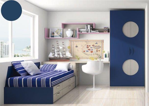 Más de 1000 ideas sobre Dormitorios Azules Adolescentes en ...