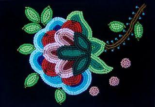 metis flowers | Metis Flower Beadwork