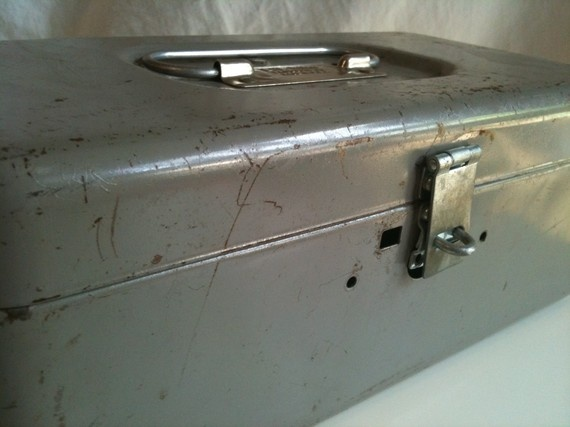 cleaned up, maybe in a pale blue or green colour, a la Chez Olsthoorn, rocks as a bread bin...