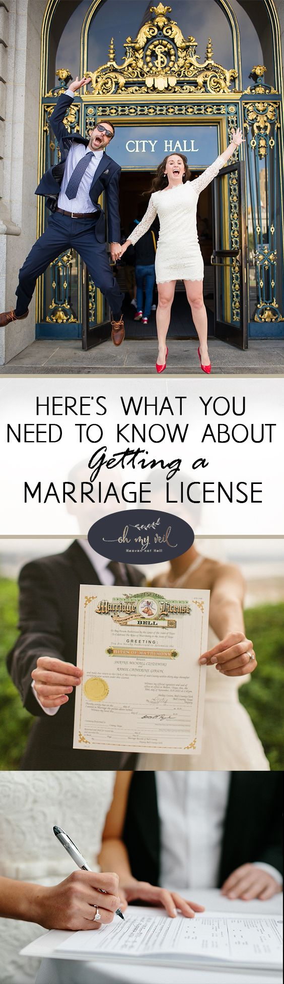 Here's What You Need to Know About Getting a Marriage License| Marriage License, Marriage License Tips, How to Get a Marriage License, Marriage, Weddings, Dream Weddings, DIY Wedding, Wedding Tips and Tricks