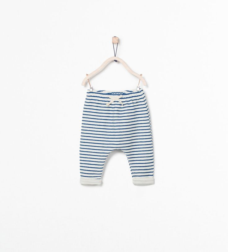 STRIPED TROUSERS from Zara