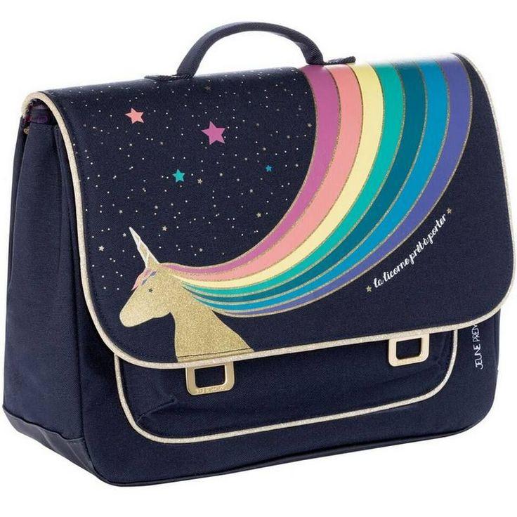 "Jeune Premier – cartable it bag midi ""Unicorn gold"""