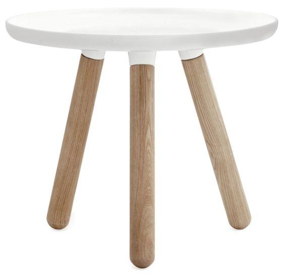 Tablo Bord Small Hvit , sofabord , sofa bord , bord , normann copenhagen , dansk design ,