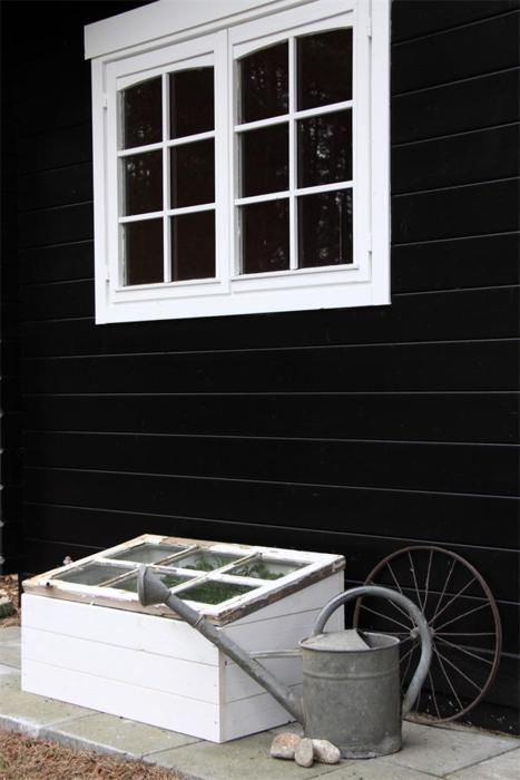15 best recycled window cold frames images on pinterest for Recycled window frames
