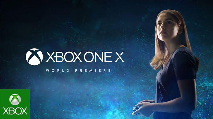 Xbox One X – E3 2017 – World Premiere 4K Trailer l #XBox