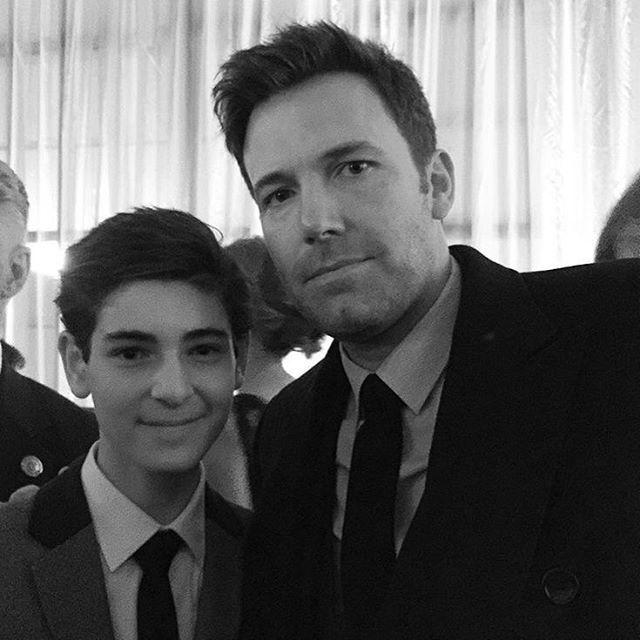 Bruce Wayne & Batman. Holy shit.