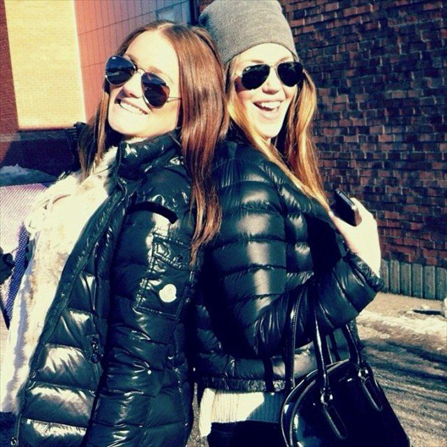 2 Total Babes In Moncler