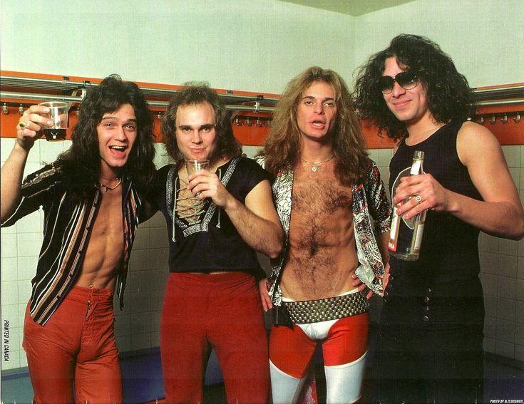 Van Halen - David Lee Roth - Eddie Van Halen