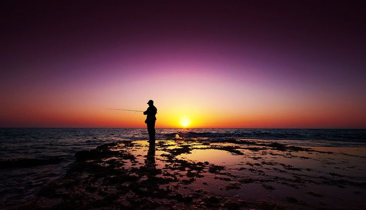The Fisherman And The Sun by Guy Cohen