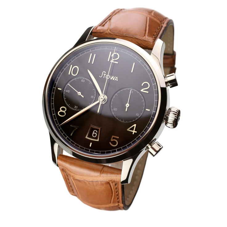Stowa - Chronograph 1938 black polished
