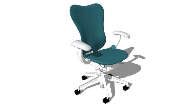 Herman Miller Mirra 2 Chair - 3D Warehouse