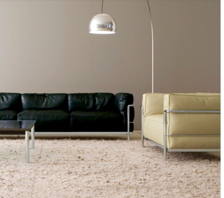 Cassina LC2 chair and sofa