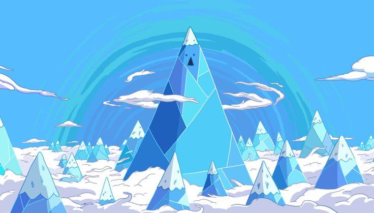 adventure time ice king mountain - Google Search