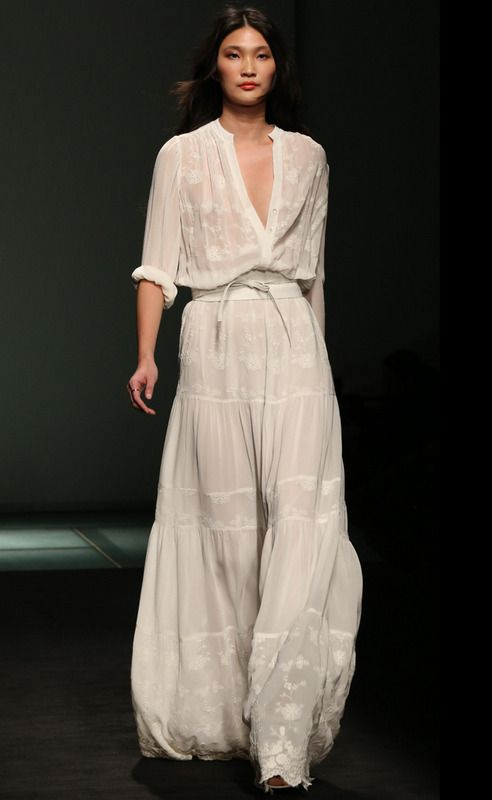 Mango 2013 bohemian chic graceful style
