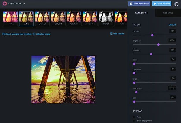 8 #Awesome #CSS #Filter #Libraries & #Tools