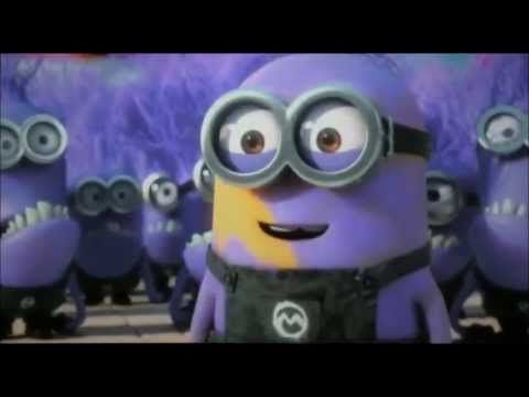 ▶ Purple Minion Dave Despicable Me 2 (evil minion) - YouTube