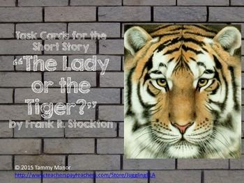 """an analysis of the lady or the tiger a short story by frank stockton The dilemma in fiction (frank stockton's """"the lady, or the tiger"""")  this is  perhaps a bit hackneyed, a plot from the last decade."""