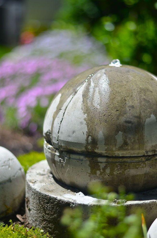 Hometalk :: DIY Solar-powered Garden Fountain