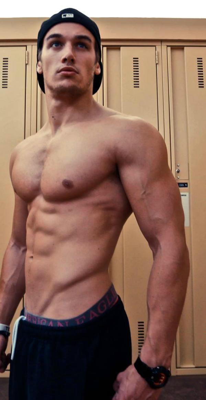 male fitness model Marc Fitt