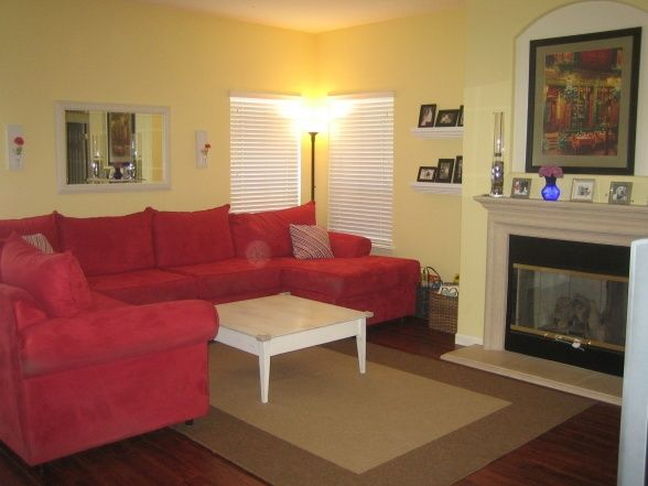 17 Best My Red Couch Livingroom Images On Pinterest Red Couches