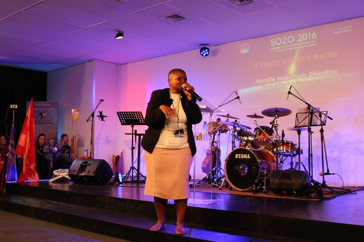 Apostle Nokuthula Dhladhla from House of Prayer and Worship, Soweto brought a powerful reminder that the right fire will consume, but the wrong fire only produces smoke for Session 3 of SOZO 2016. Watch the replay at www.deogloria.org/live  #sozo2016 #FireOilWater #ForeverChanged #lgbt #gaychurch #gaychristian #allpeople #durban