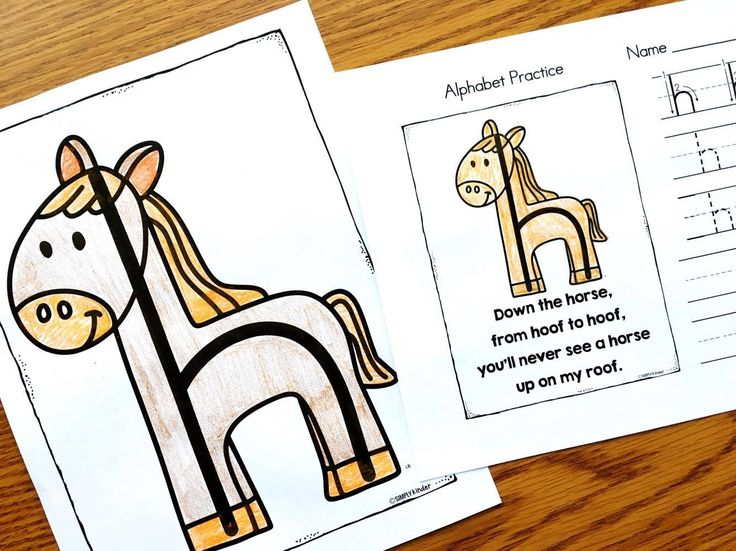 Alphabet Poems to help with letter formation