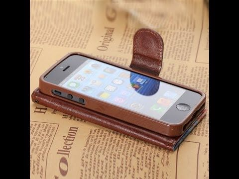 Flowers Canvas Wallet Carrying Case Stand Cover w/ Card Slots for iPhone...