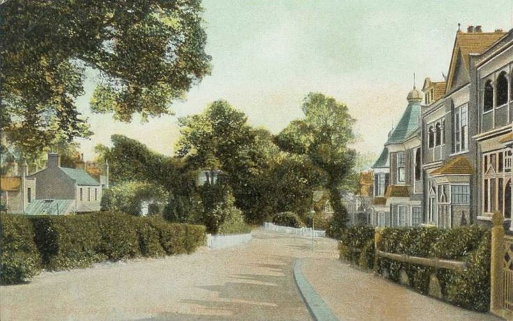 Essex, Southend-on-Sea, The Avenue 1900's