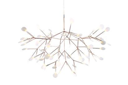 Moooi heracleum light - even better in situ