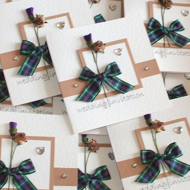 Scottish & English Wedding Invitations. - Truly Madly Weddings