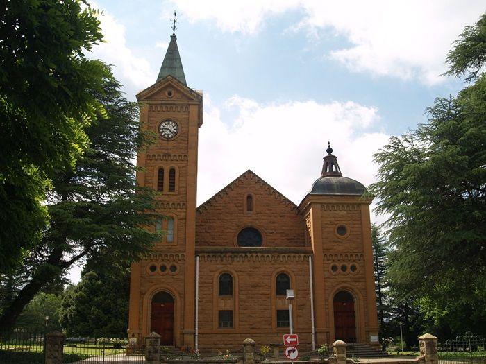 Ficksburg se NG Kerk. Foto: Paul van Vuuren (Flickr)