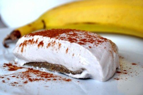 Kokos Bananen Cheesecake