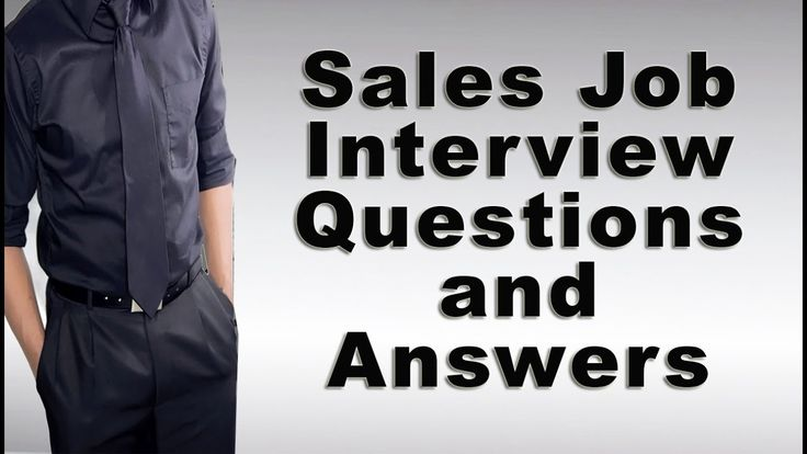 Sales interview questions and answers plus tips for salespeople in preparation for when interviewing for a sales position or promotion