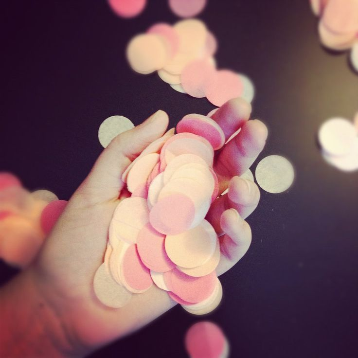 Colorful Confetti to toss instead of flowers