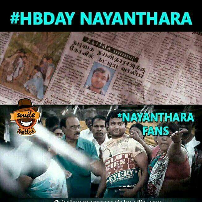 Happy birthday #lady #Nayanthara #superstar❤